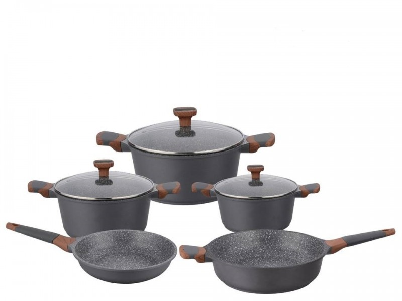Set oale 8 piese din marmura , Imperial collection ,IM-ST8WM