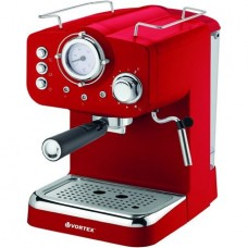 Espressor manual VORTEX SVO4016 1.25 L 1100 W 15 bar Rosu